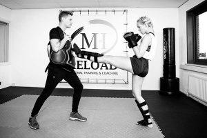 Mike Hendriks als personal boks training in Groningen van MH-Reload