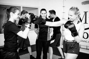groepstraining boksen, bokstraining in groep bij MH-Reload in Groningen