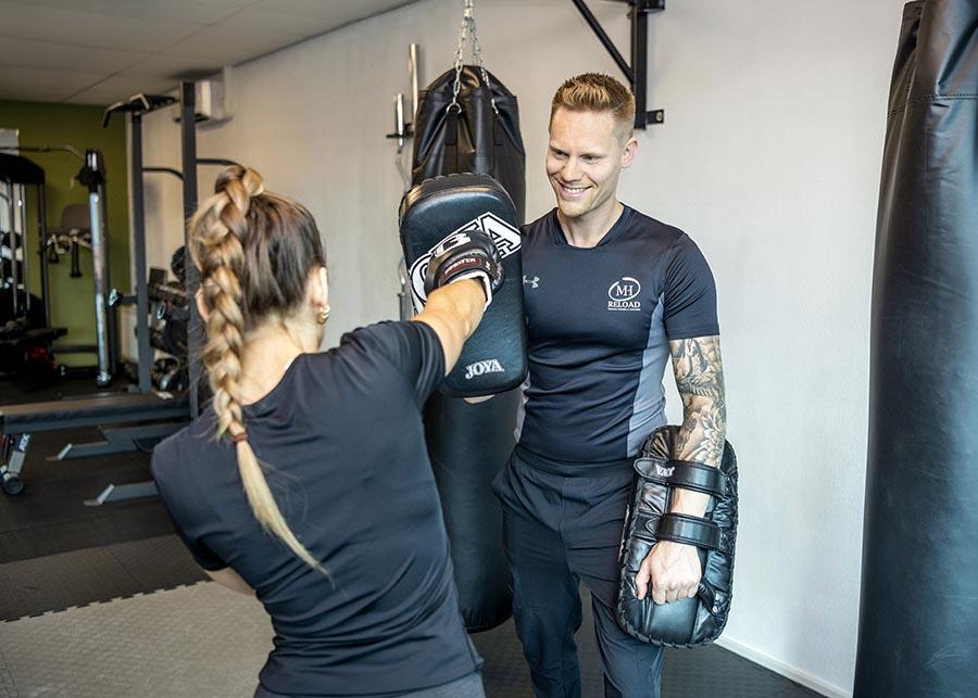 personal trainer groningen bokstraining HM-Reload