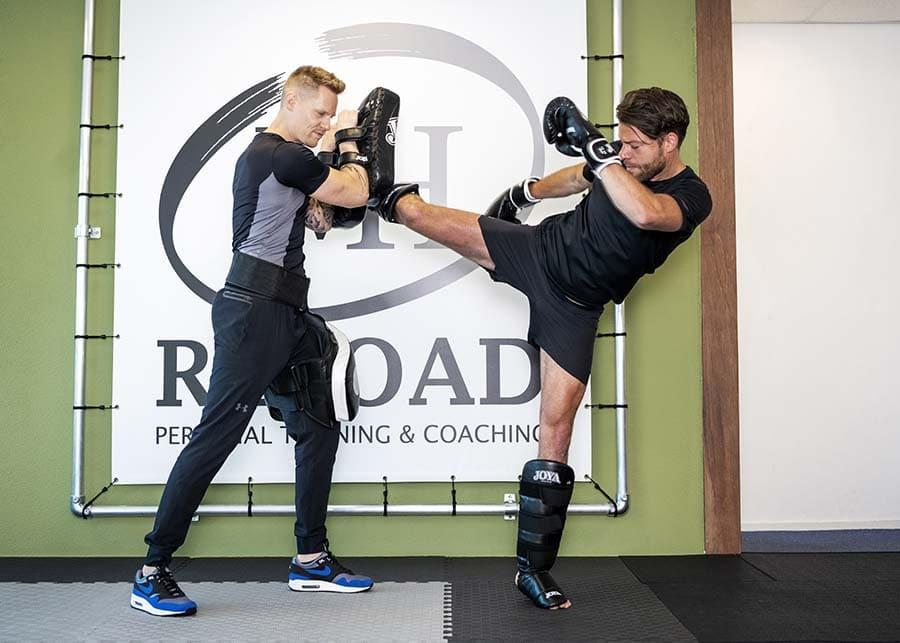 Personal trainer Mike Hendriks bokstraining