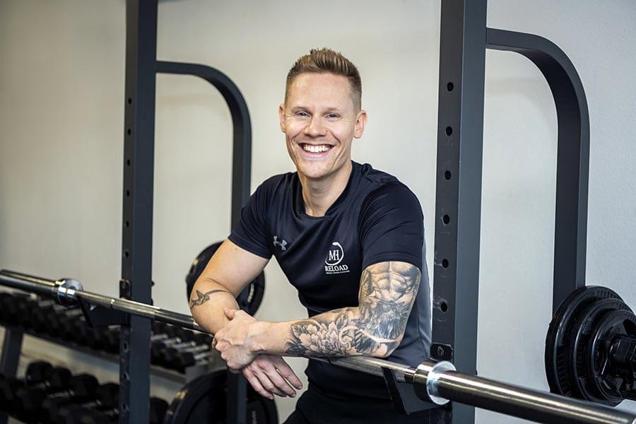 personal trainer Groningen Mike Hendriks